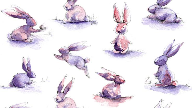 Rabbits // Free wallpaper // Simple + Beyond // http://simplebeyond.com/happy-new-year-free-january-wallpaper-set-inside/Happy New Year! Free January wallpaper set inside - Simple + Beyond