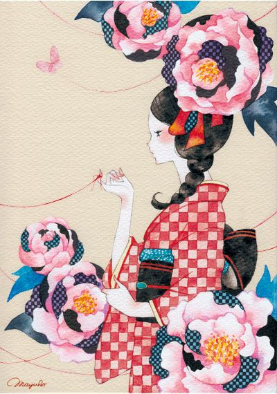 http://illustrators.jp/img/works/l/0783_00000024054.jpg 着物 牡丹