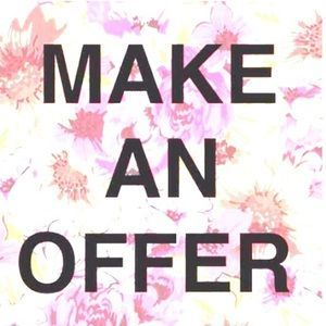 You can Make an offer too! Just click on the button and let us know your offer! #easystep #makeanoffer #offer