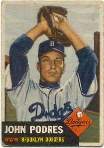 Johnny Podres 1955 World Series MVP