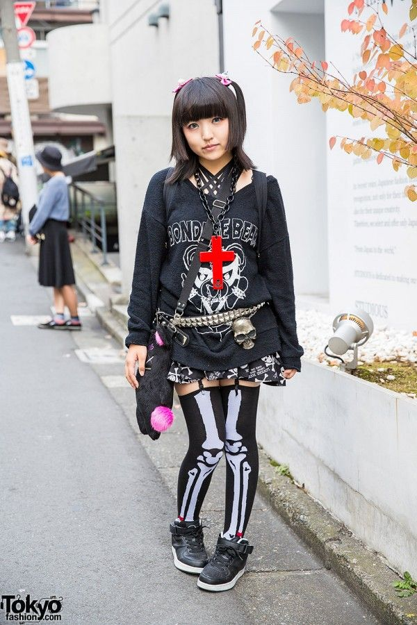 "Glad News ""Bondage Bear"" Top, Sexpot Revenge & Super Lovers in Harajuku"