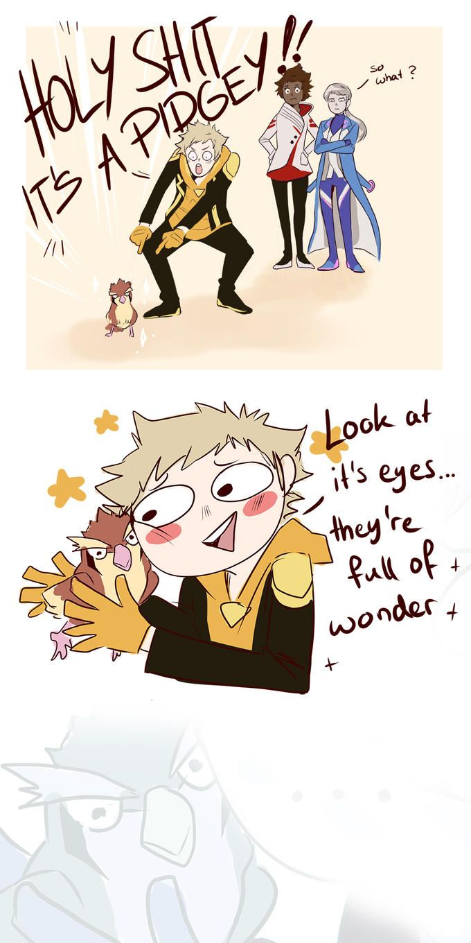 Spark loves all pokemon