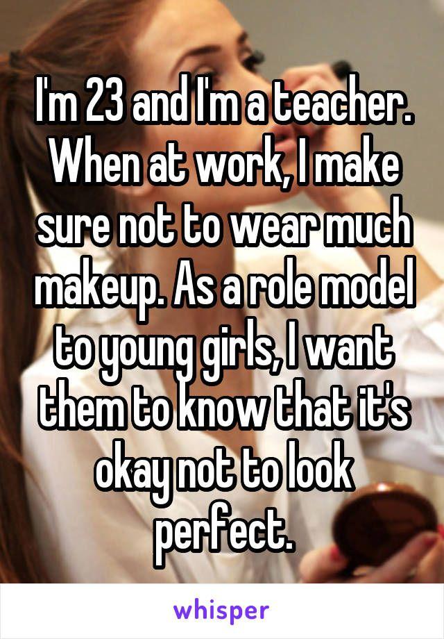 I'm dating my teacher