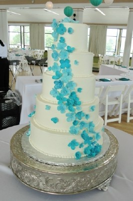 blue hydrangea wedding cakes blue hydrangea wedding hydrangeas and blue hydrangea on 11991