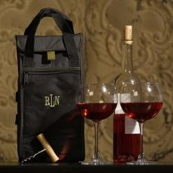 Personalized Napa Wine CarrierBlack Bags, Red Wine, Bottle Open, Gift Ideas, Wedding Parties Gift, Napa Wine, Bridal Gift, Wine Carriers, Personalized Napa
