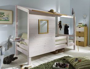 17 parasta ideaa bett f r jungs pinterestiss. Black Bedroom Furniture Sets. Home Design Ideas