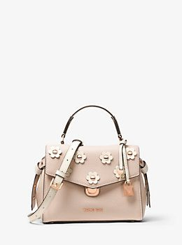 cb21acd191d5 View All Designer Handbags, Backpacks & Luggage. Bristol Floral Appliqué  Leather Crossbody | Michael Kors