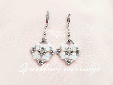 YouTube earrings detailed video tutorial