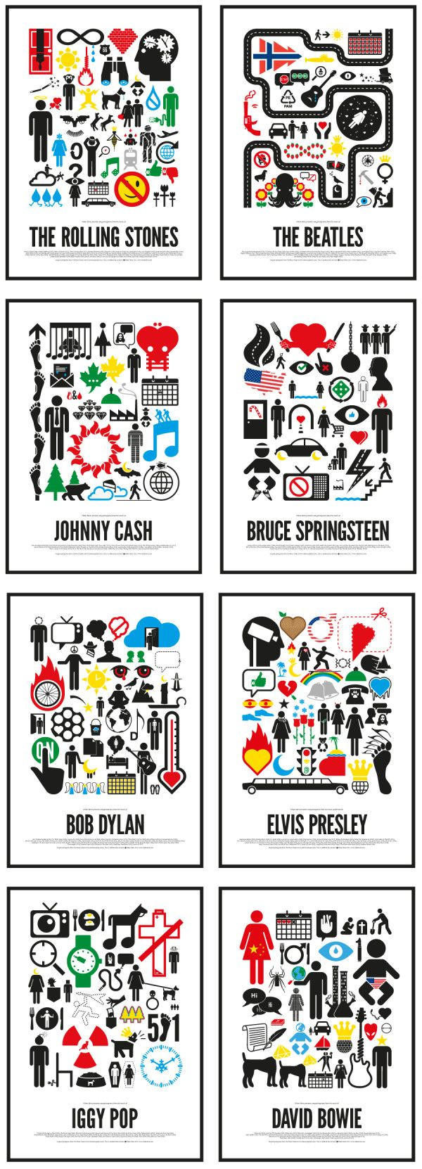 Music pictograms that chronologue icons of 20th century - gre... on Twitpic