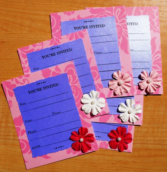 1000+ Images About Handmade Invitations On Pinterest