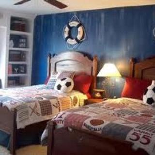 Boy's bedroomDecor Ideas, Boy Bedrooms, Boys Bedrooms, Kids Room, Room Ideas, Shared Bedrooms, Bedrooms Painting, Boys Room, Boysroom