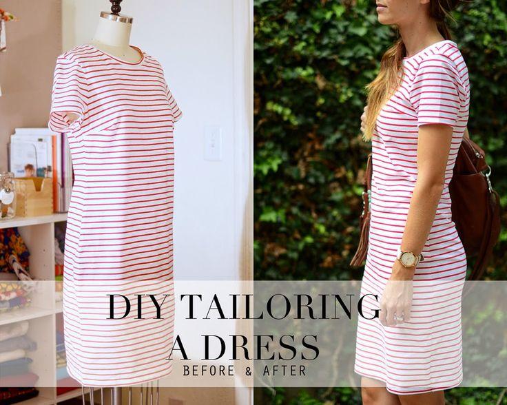 tailoring a dress