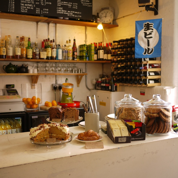 Cafe Otto in Dalston great vibe, nice cakes, and a really diverse music programme.