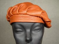 Deerskin Leather Beret