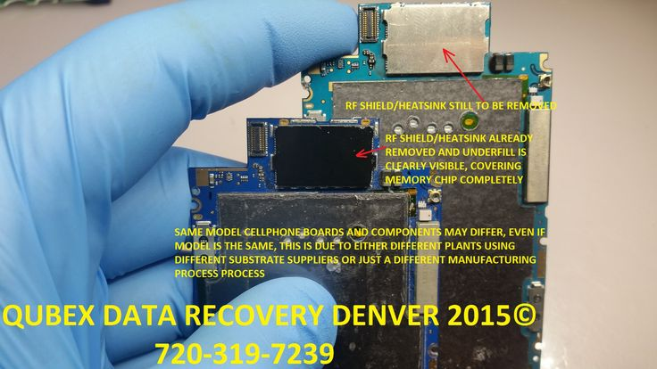 Yet another picture of additional step involved in iphone 3 data recovery By  QUBEX Denver data recovery services 720-319-7239