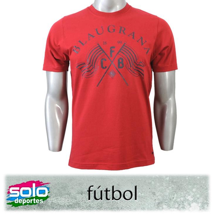Remera Barcelona Plus  Rojo/Azul    Marca: Nike  510020506809651      $219,00 (U$S 45,81)