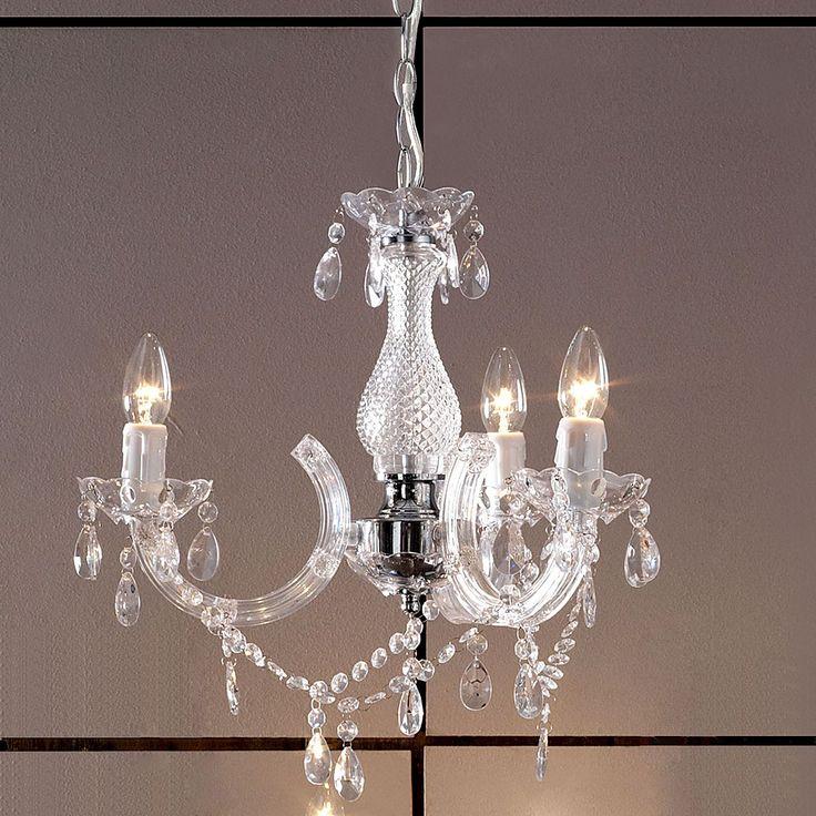£30 Marie Therese Three Light Fitting | Dunelm