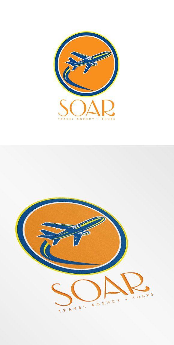 Soar Travel Agency Tours Logo Travel Agency Travel Logo Business Card Logo