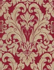 Fabric F70-1029 Red Close Up