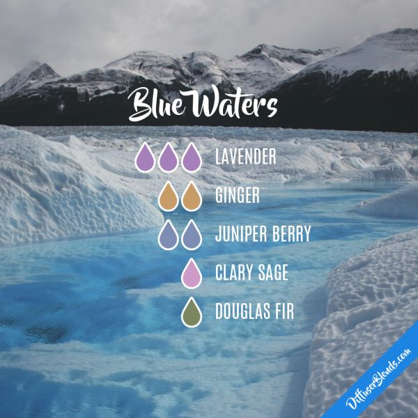 Blue Waters - Essential Oil Diffuser Blend