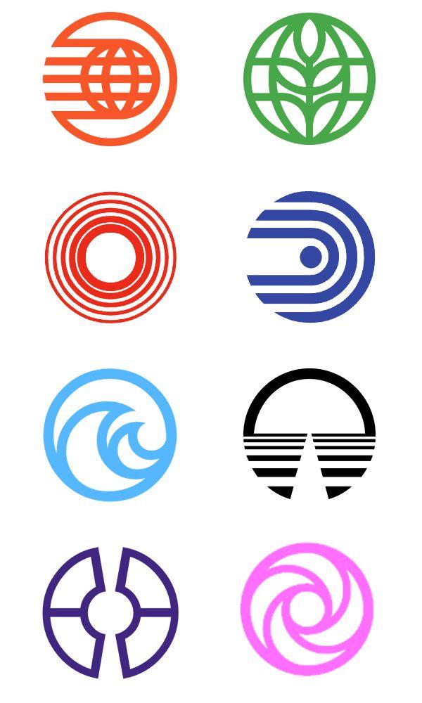 saul bass logos -