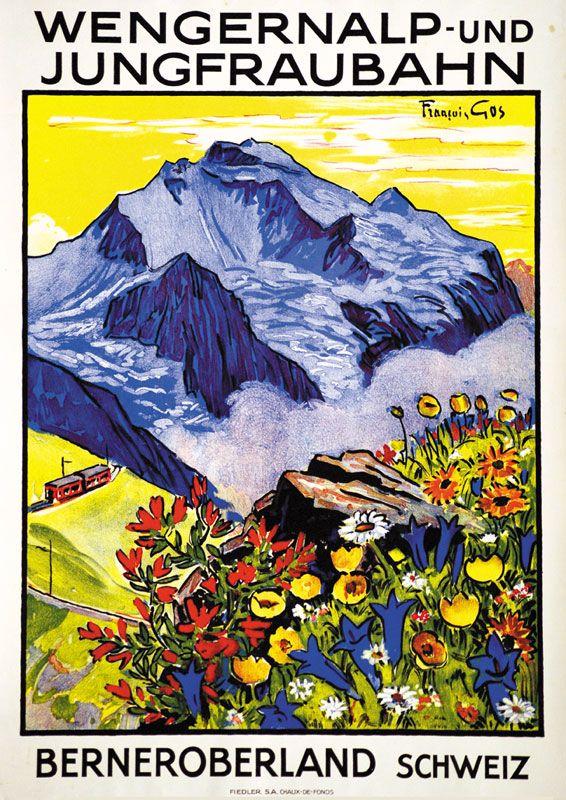 Wengernalp und Jungfraubahn François Gis