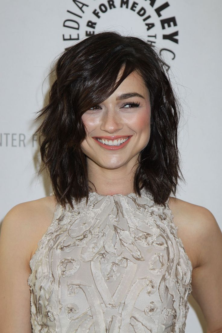 Crystal Reed hair... love it!