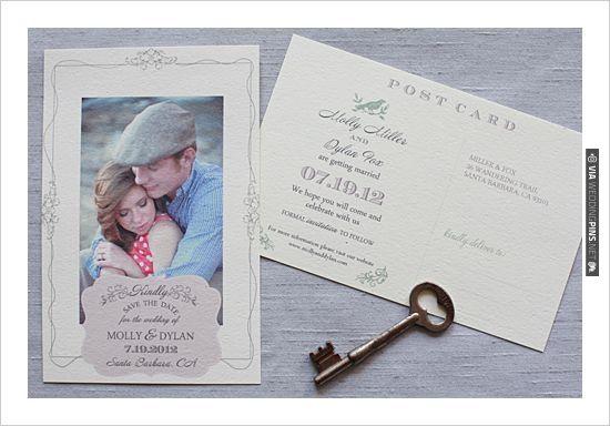 #free printables, ,  Photo Cards, Photo, Cards, , Postcards, Vintage Postcard, Vintage, Save the Date, $0 | CHECK OUT MORE IDEAS AT WEDDINGPINS.NET | #printableweddingtemplates