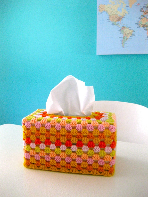 1000 Images About Crochet Home Tissue Box Covers On