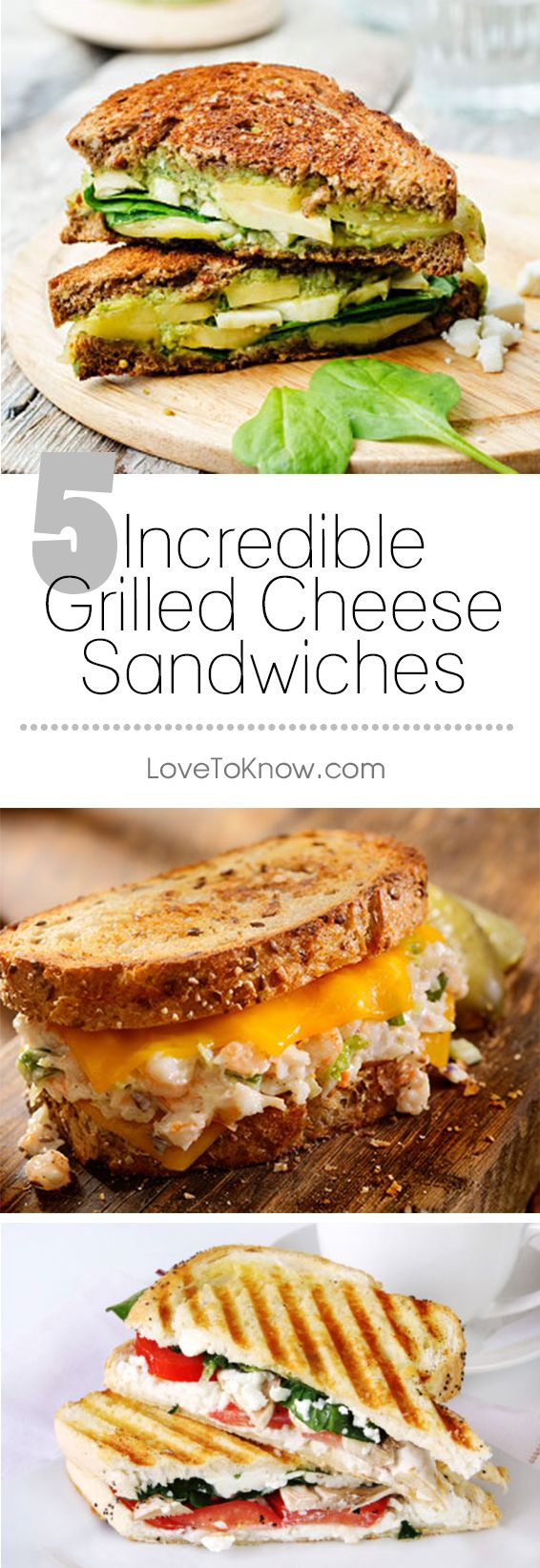 If you love the taste of grilled cheese but are tired of eating the same sandwich day after day, you're in luck. With so many incredible unique grilled cheese recipes available, you can eat a grilled cheese sandwich every day of the week and never be bored.