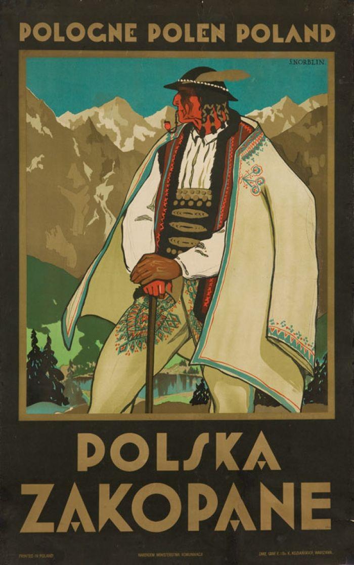 Stefan Norblin - Polska. Zakopane, 1925 r.