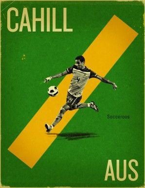Lebende Legende: Tim Cahill ist nicht nur australischer Rekordtorschütze, sondern erzielte 2006 auch die beiden allerersten WM-Tore ... #soccer #australia