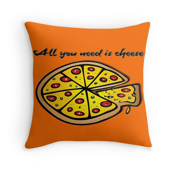 All you need is cheese, and pizza!