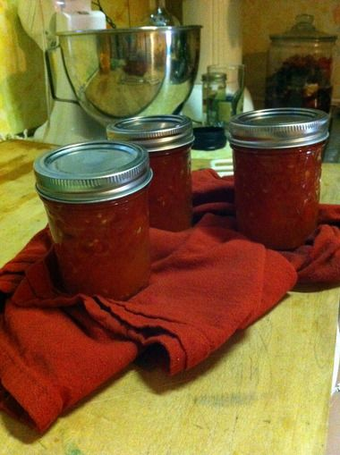 Small-batch stewed tomatoes - Hip Girl's Guide to Homemaking - Living thoughtfully in the modern world