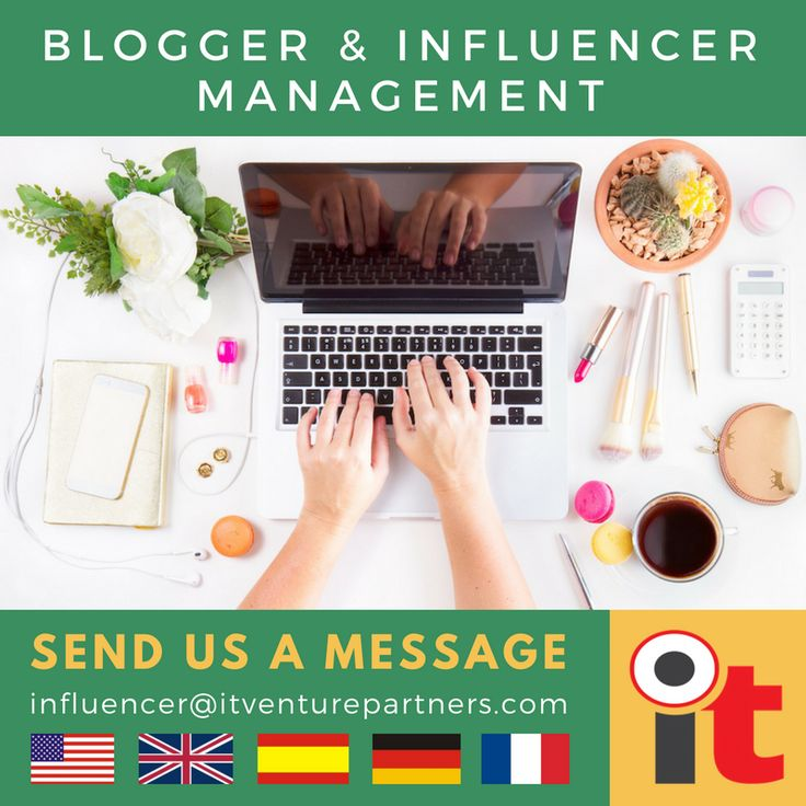 Blogger & Influencer Management