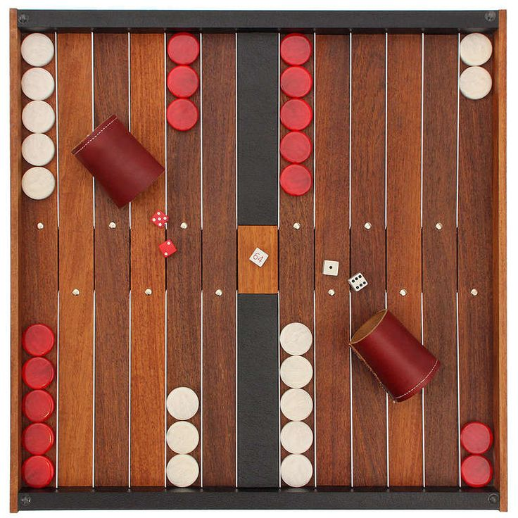 Backgammon Board By Austin   From a unique collection of antique and modern games at http://www.1stdibs.com/furniture/more-furniture-collectibles/games/