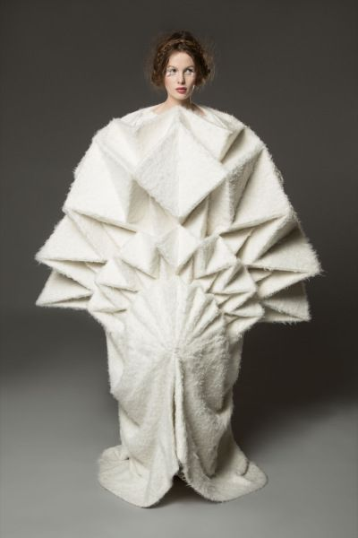 yuki hagino 1007 Origami Fashion Dress