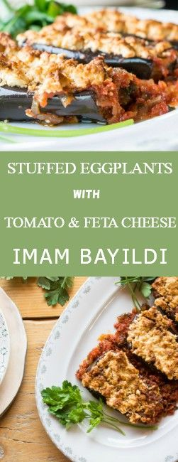 If you've visited Greece, you'll have tried stuffed eggplants, but even if you haven't, take a leap of faith and you won't regret it.They're Divine!