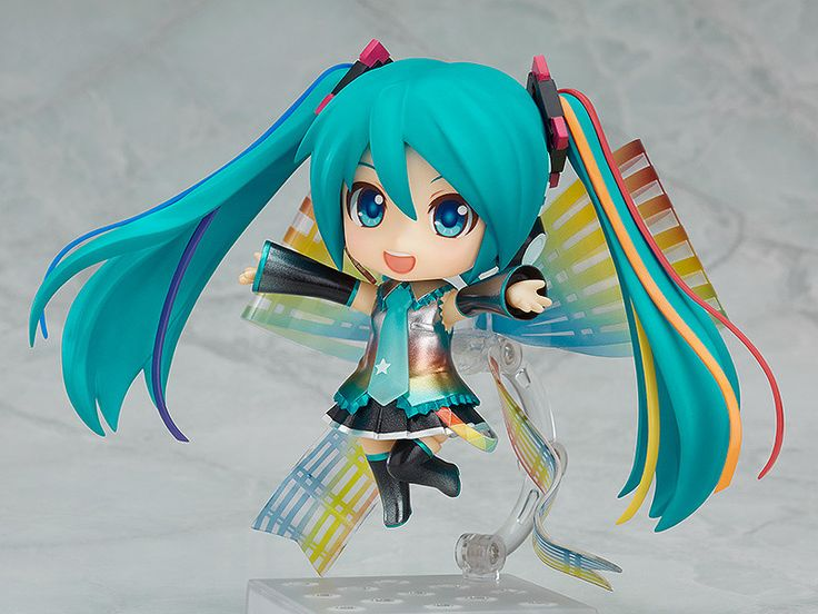 The 10th anniversary of Hatsune Miku! A brand new start!Hatsune Miku celebrates her 10th anniversary on Aug. 31, 2017, and her special 10th anniversary illustration has been transformed into a Nendoroid to celebrate! The original character designer of Hatsune Miku, KEI, has worked together with the designer and manga artist Mari Shimazaki to create a vivid illustration to celebrate the 10th anniversary of Hatsune Miku, which has been faithfully shrunk down into Nendoroid size! Her colorful…