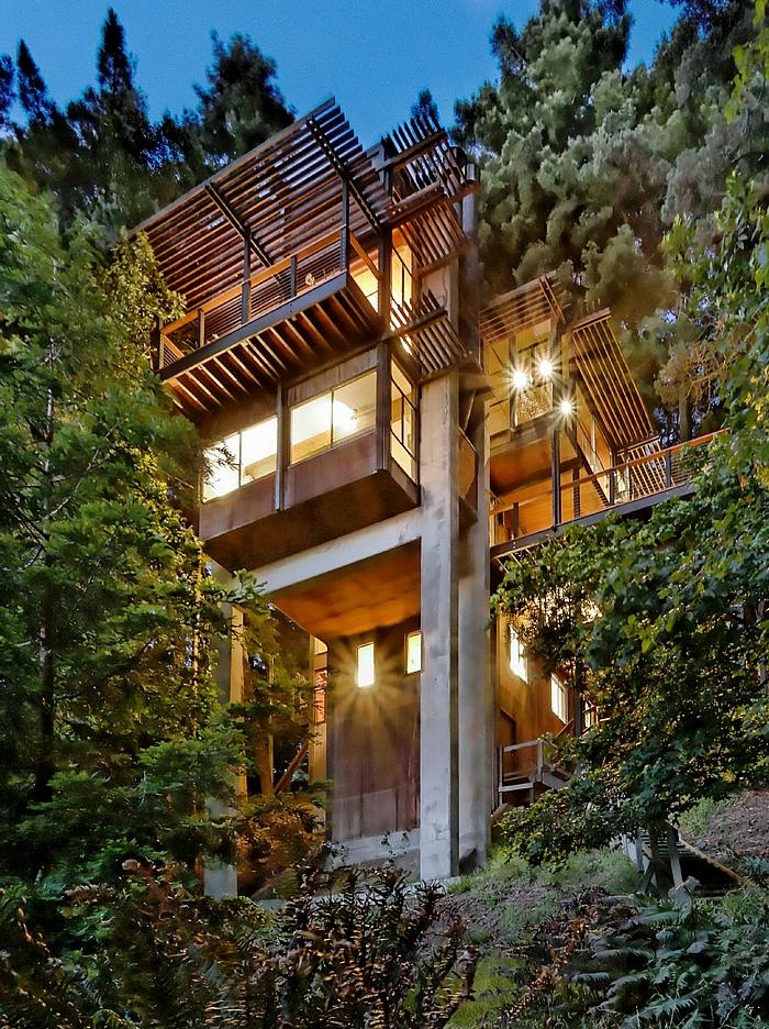 Joseph Esherick House In Oakland Home Architecture