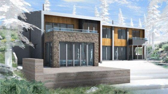 M s de 25 ideas incre bles sobre casa de campo moderna en for Casa moderna 44 belvedere