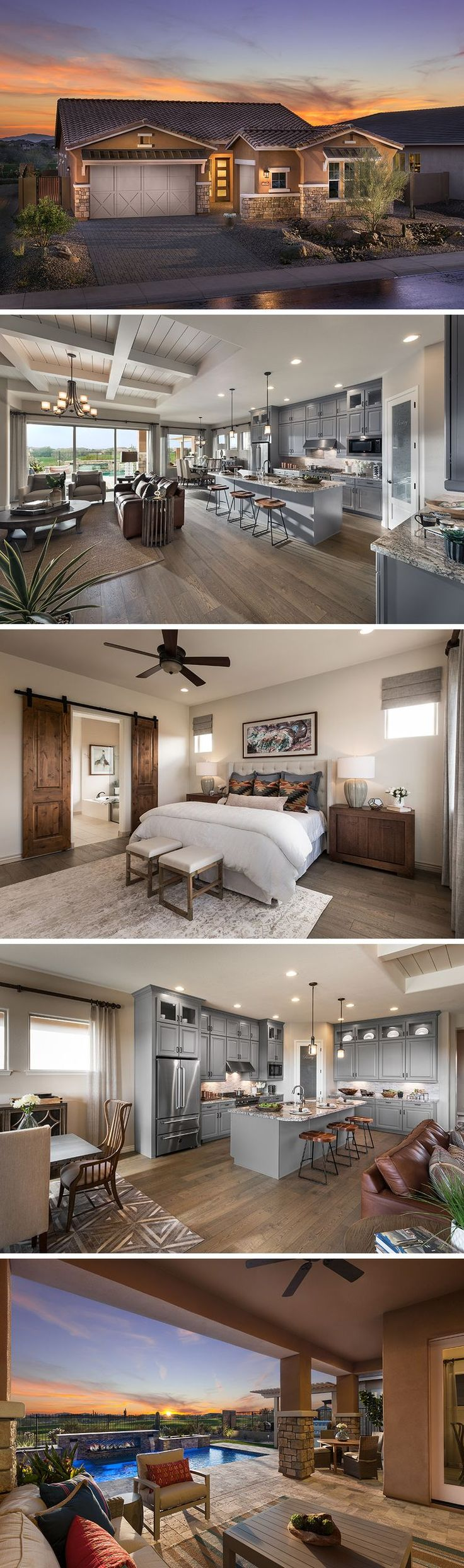 The Havasu is one of many available homes in the Greens at Blackstone, located in the prestigious master planned community of Vistancia! Here you can enjoy hiking trails, an 18-hole golf course, a beautiful country club, outdoor pool, and more. The Havasu is customizable at 4-5 bedrooms, 3 full baths, and up to 2,454 square feet of living space. Stop on by and check out this lovely community.