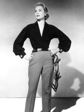 Going to see the V&A exhibition of Grace Kelly's wardrobe with my Mumsy at Easter