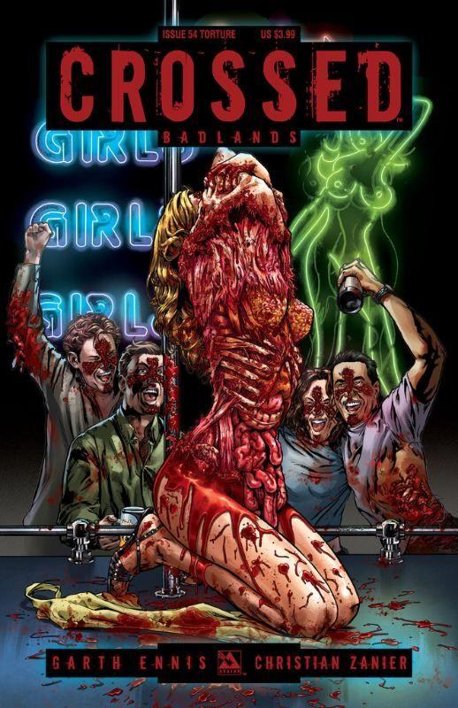 Crossed: Badlands #54 Torture Variant Cover