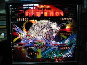 Used pinball machines for sale | Countdown to mutiball| Williams 1983 Firepower | Midwest Pinball | http://mwpinball.com/1983-williams-firepower-1700/#
