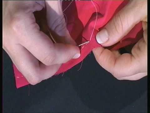 L'orlo dei pantaloni sportivi con la macchina da cucire - YouTube