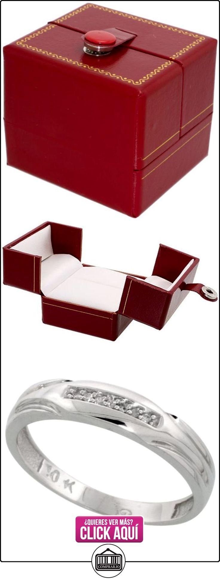 Revoni - Juego de alianzas de oro blanco  ✿ Joyas para hombres especiales - lujo ✿ ▬► Ver oferta: http://comprar.io/goto/B005NW3VTW