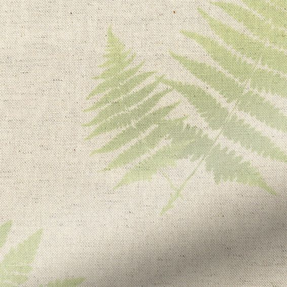 Choices Forest Fern Linen Green Roller Blind from Blinds 2go