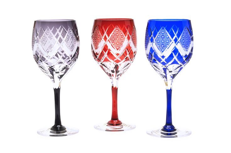ワイングラス 華鏡