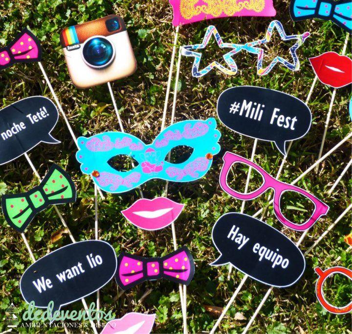 Kit de accesorios para Photobooth